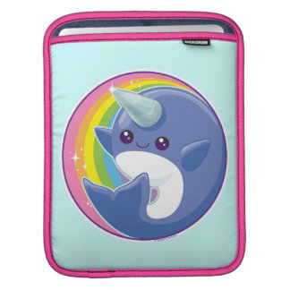 Kawaii Narwhal Sleeve For iPads