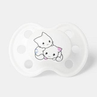 Kawaii Neko Kitty - all sizes, colours, styles Pacifier
