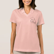 Kawaii Neko Kitty - all sizes, colours, styles Polo Shirt