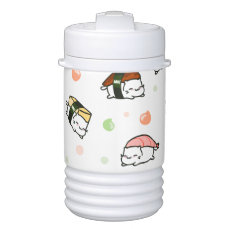 Kawaii Neko Nigiri Beverage Cooler