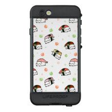 Kawaii Neko Nigiri LifeProof NÜÜD iPhone 6s Case