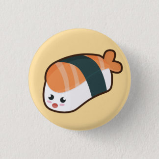 Kawaii nigiri Salmon Button