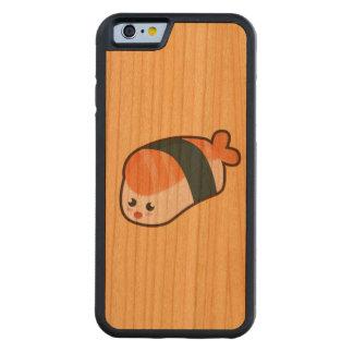 Kawaii nigiri Salmon Carved Cherry iPhone 6 Bumper Case