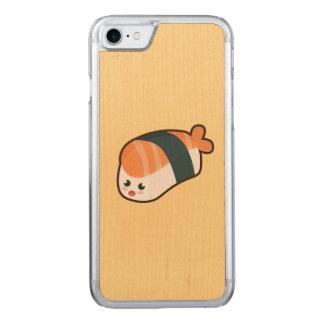 Kawaii nigiri Salmon Carved iPhone 7 Case