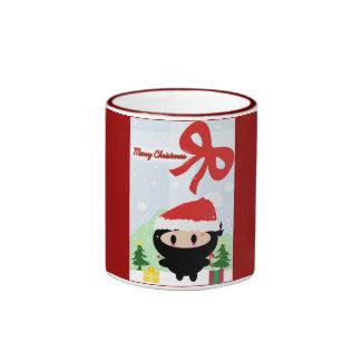 Kawaii Ninja Christmas Mug