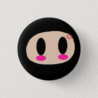 Kawaii Ninja Face Button