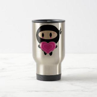 Kawaii Ninja Heart Giver Mug