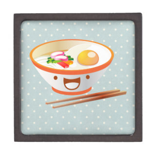 Kawaii Noodle Bowl Jewelry Box