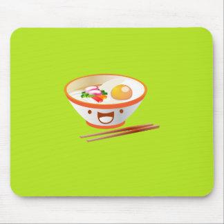 Kawaii Noodle Bowl Mouse Pad