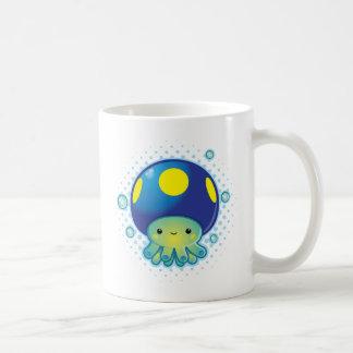 Kawaii Octopus Mushroom Coffee Mug