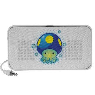 Kawaii Octopus Mushroom Portable Speaker