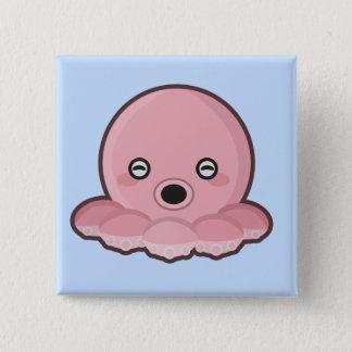 Kawaii Octopus Pinback Button