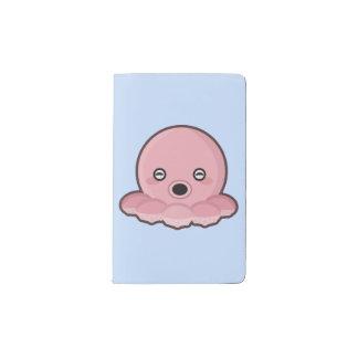Kawaii Octopus Pocket Moleskine Notebook