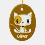 Kawaii Oliver Ornament