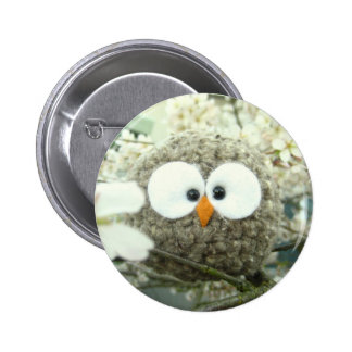 Kawaii Oliver the Owl 2 Inch Round Button