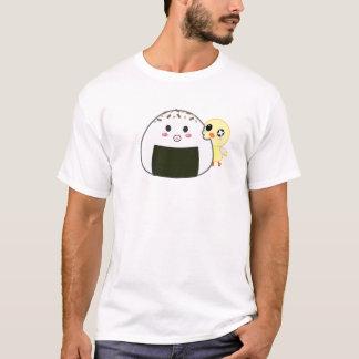 "Kawaii ""Onigiri"" Rice Ball with Ejiki the Chick T-Shirt"