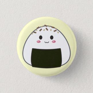 "Kawaii ""Onigiri"" Rice Ball with Toppings Button"