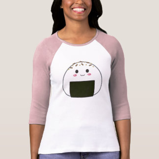 "Kawaii ""Onigiri"" Rice Ball with Toppings T-Shirt"