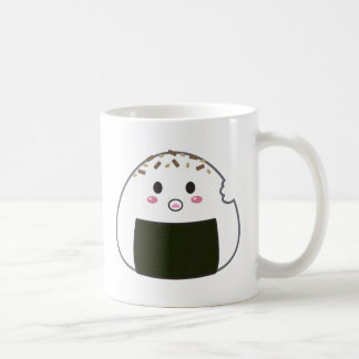 "Kawaii ""Onigiri"" Rice Balls Coffee Mug"