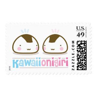 kawaii onigiris stamps