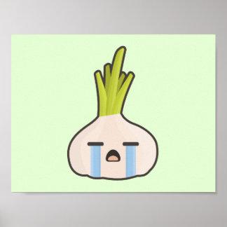 Kawaii Onion Poster