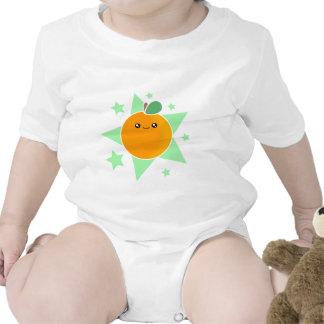Kawaii Orange Fruit Baby Baby Creeper