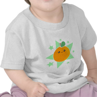 Kawaii Orange Fruit Infant Shirt