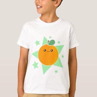 Kawaii Orange Fruit kids Shirt