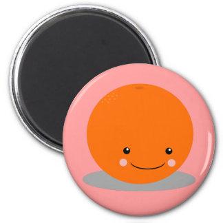 kawaii orange iphone case 2 inch round magnet