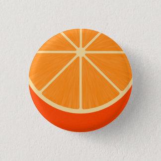 Kawaii Orange Round Button