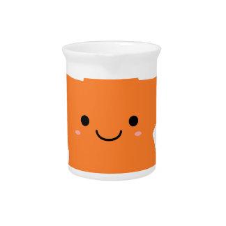Kawaii Orange Star Drink Pitcher