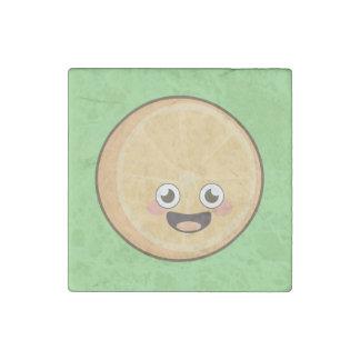 Kawaii Orange Stone Magnet