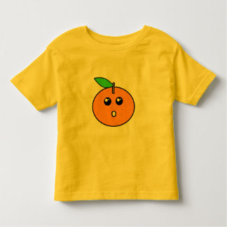 Kawaii Orange Toddler T-shirt