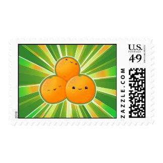 Kawaii Oranges Postage