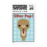 Kawaii Otter Soda Pop Stamps