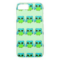 Kawaii Owl iPhone 8/7 Case