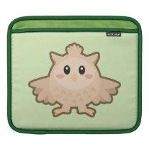 Kawaii Owl Sleeve For iPads