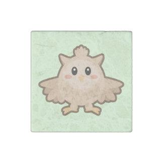 Kawaii Owl Stone Magnet