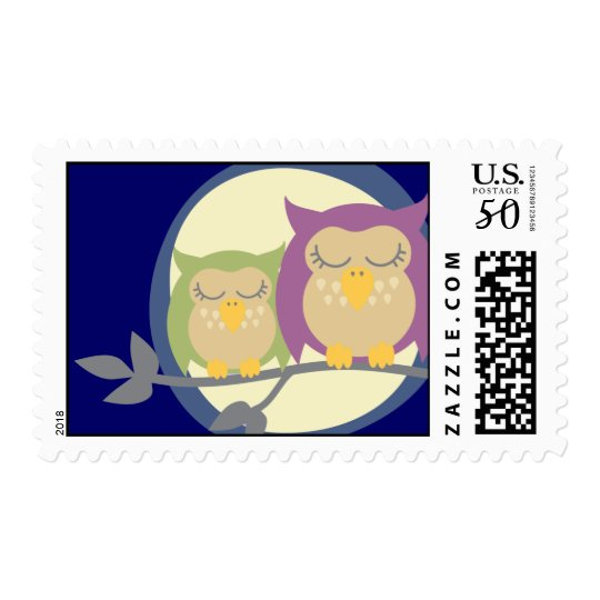 Kawaii Owls Stamp