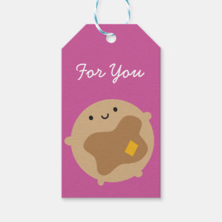 Kawaii Pancake Gift Tags