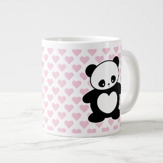 Kawaii panda 20 oz large ceramic coffee mug
