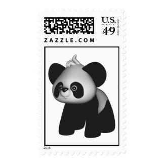 Kawaii Panda Baby Bear Postage