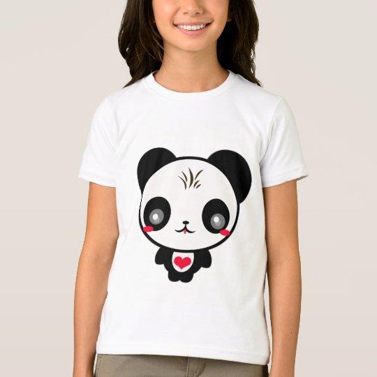 Kawaii Panda Bear T-Shirt