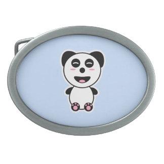 Kawaii Panda Belt Buckle
