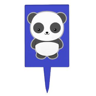 Kawaii Panda Cake Topper