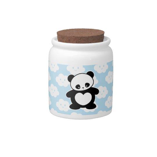 Kawaii panda candy dish