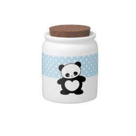 Kawaii panda candyjar