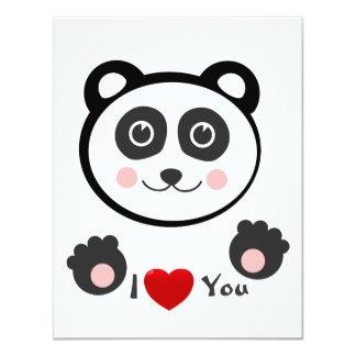 Kawaii Panda Card