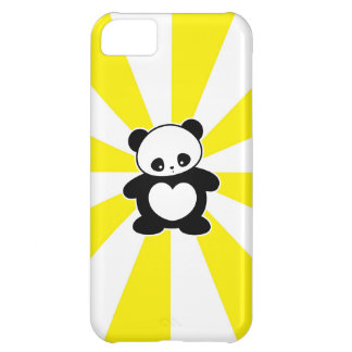 Kawaii panda cover for iPhone 5C