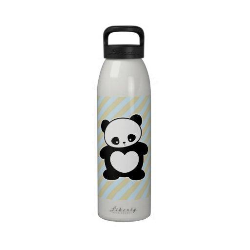 Kawaii panda drinking bottles